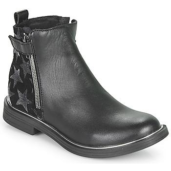 Schuhe Mädchen Boots GBB XIANA Schwarz