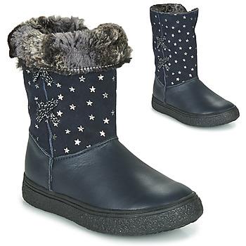 Schuhe Mädchen Klassische Stiefel GBB OLINETTE Marine