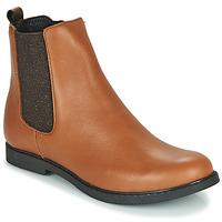 Schuhe Mädchen Boots GBB ARANA Cognac