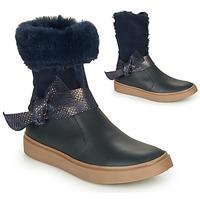 Schuhe Mädchen Klassische Stiefel GBB EVELINA Marine