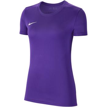 Kleidung Damen T-Shirts Nike Dry Park VII SS Jersey Women Violett