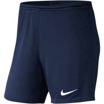 Kleidung Damen Shorts / Bermudas Nike Park III Knit Short NB Women Blau
