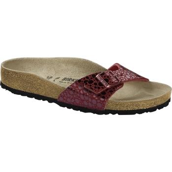 Schuhe Pantoffel Birkenstock & Co.kg Birkenstock Pantolette madrid metallic stones port 1014403 Other