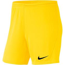 Kleidung Damen Shorts / Bermudas Nike Park III Knit Short NB Women Gelb