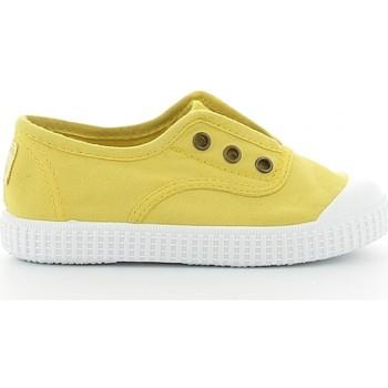 Schuhe Jungen Tennisschuhe Victoria 106627 jaune
