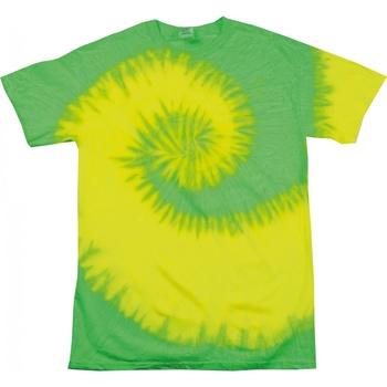 Kleidung Damen T-Shirts Colortone Rainbow Neongelb/Limette
