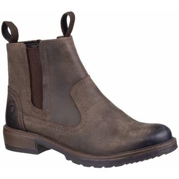 Schuhe Damen Boots Cotswold  Braun
