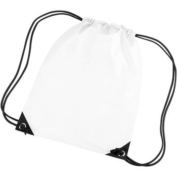 Taschen Kinder Sporttaschen Bagbase BG10 Weiß