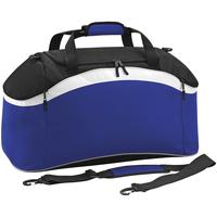 Taschen Sporttaschen Bagbase BG572 Königsblau/Schwarz/Weiß