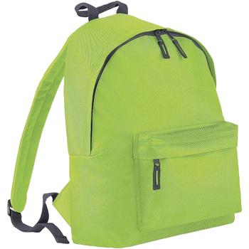 Taschen Rucksäcke Bagbase BG125J Limette/Grau