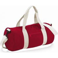 Taschen Reisetasche Bagbase BG140 Rot/Naturweiß