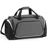 Taschen Sporttaschen Quadra QS270 Anthrazit/Schwarz/Weiß