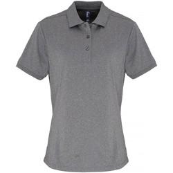 Kleidung Damen Polohemden Premier PR616 Grau