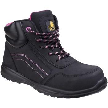 Schuhe Damen Arbeitsschuhe Amblers  Schwarz