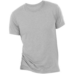 Kleidung Herren T-Shirts Bella + Canvas CA3413 Grau meliert Triblend