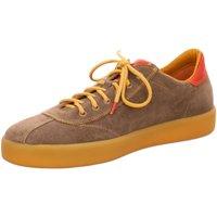 Schuhe Herren Sneaker Low Think Schnuerschuhe 6-86647-21 braun