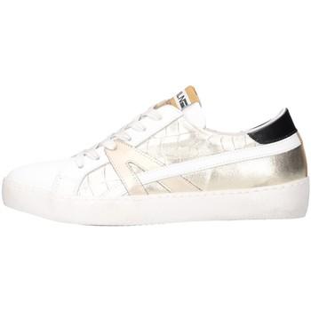 Schuhe Damen Sneaker Low Meline KUC 1362 Weiß / Platin