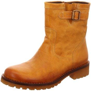 Schuhe Damen Low Boots Lazamani Stiefeletten 1345 74.441 mostaza 122 braun