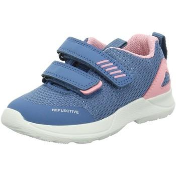 Schuhe Mädchen Babyschuhe Superfit Maedchen Rush Sneaker 09207-81 blau