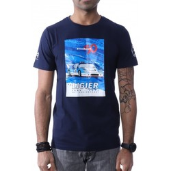 Kleidung Herren T-Shirts Hungaria H-748080-60 Blau