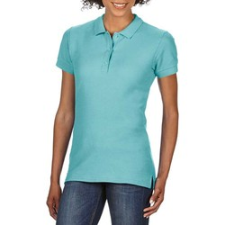 Kleidung Damen Polohemden Gildan 85800L Grün