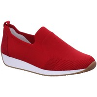 Schuhe Damen Slip on Ara Slipper Lissabon Fusion4 Slipper 12-34080-12 rot