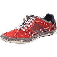Schuhe Herren Sneaker Low Bugatti Schnuerschuhe Slipper Halbschuh Canario 321-48009-5400 3000 rot