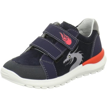 Schuhe Jungen Sneaker Low Ricosta Klettschuhe 6923600-171-Bobbi blau