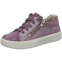 Schuhe Mädchen Sneaker Low Superfit Schnuerschuhe HEAVEN 6-06489-90 90 lila