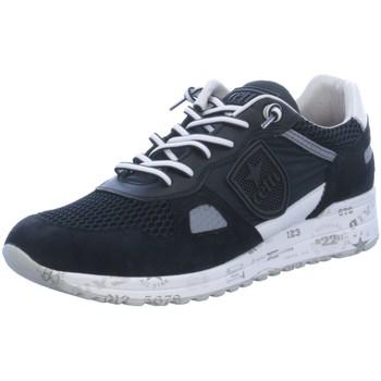 Schuhe Herren Sneaker Low Cetti Sportschuhe Sportlicher Schnürer C-1216 schwarz