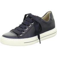 Schuhe Damen Sneaker Low Ara Schnuerschuhe COURTYARD 12-37428-72 blau