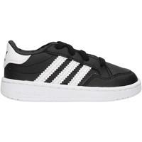 Schuhe Jungen Sneaker Low adidas Originals - Team court el i nero/bco EG9092 NERO