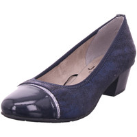 Schuhe Damen Pumps Jana Woms Court Shoe NAVY GLITTER