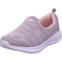 Schuhe Damen Slip on Lico Merit grau/rosa