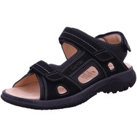 Schuhe Damen Sportliche Sandalen Ganter Sandaletten 257128 0100 schwarz