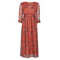 Kleidung Damen Maxikleider Vero Moda VMGLAMMY Rot
