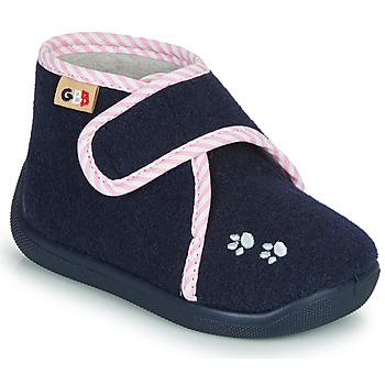 Schuhe Mädchen Hausschuhe GBB HELORIE Blau