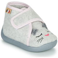 Schuhe Mädchen Hausschuhe GBB HELORIE Grau