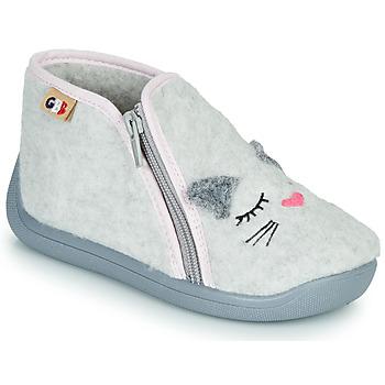 Schuhe Mädchen Hausschuhe GBB CORI Grau
