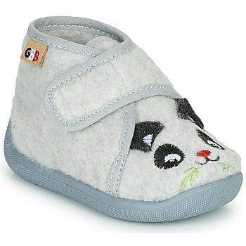 Schuhe Kinder Hausschuhe GBB KEELIO Grau