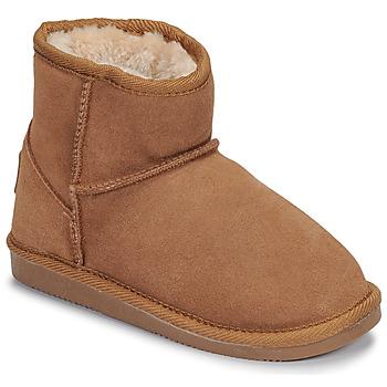 Schuhe Mädchen Boots Les Tropéziennes par M Belarbi FLOCON Camel