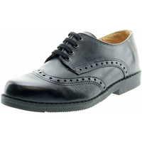 Schuhe Jungen Derby-Schuhe Sabalin Elganter Schnürschuh 61 1532 Schwarz