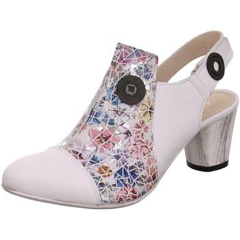 Schuhe Damen Pumps Simen Außergewöhnlicher Sling 2753A-191/988/007/000-3-1 weiß