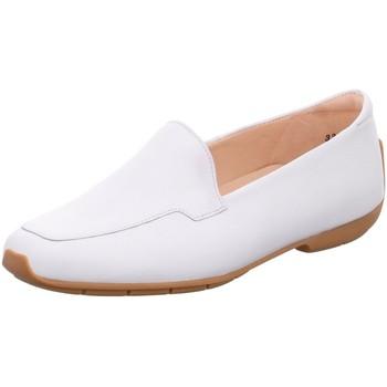 Schuhe Damen Slipper Peter Kaiser Slipper Allyson 32555 081 weiß