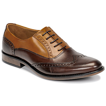 Schuhe Herren Richelieu André BIBRIDGE Braun