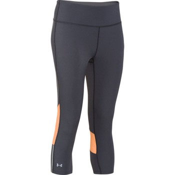 Kleidung Damen 3/4 Hosen & 7/8 Hosen Under Armour Stretch Capri schwarz