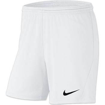 Kleidung Damen Shorts / Bermudas Nike Park III Knit Short NB Women Weiss