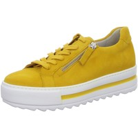 Schuhe Damen Sneaker Low Gabor 46.498.22 gelb