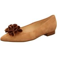 Schuhe Damen Ballerinas Peter Kaiser Sadie 19543-737 biscotti sable Suede 19543-737 braun