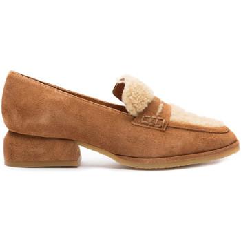Schuhe Damen Slipper Castaner Normandia Braun
